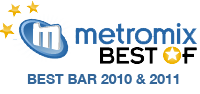 Metromix Best Bar 2010 and 2011